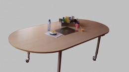 verstelbare tafel